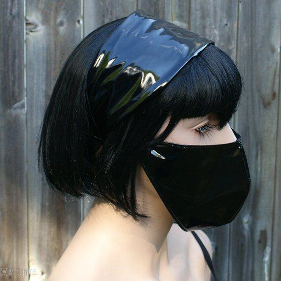Les masques pour la personne les perles noires acheter